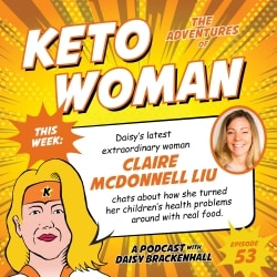 Daisy Brackenhall Keto Woman Podcast